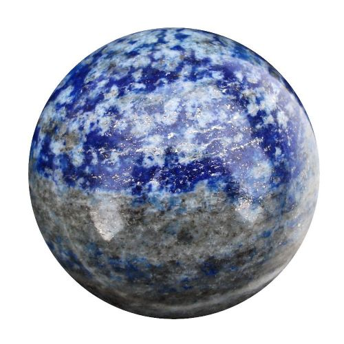 Lapis Lazuli Fortune Telling Crystal Ball Divination Sphere 52mm 230g (LB1)